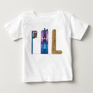 ベビーのティー|フィラデルヒィア、PA (PHL) ベビーTシャツ