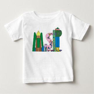 ベビーのティー|ミネアポリス、MN (MSP) ベビーTシャツ
