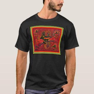 ベビーのデザインを持って来ているKunaのインドのこうのとり Tシャツ