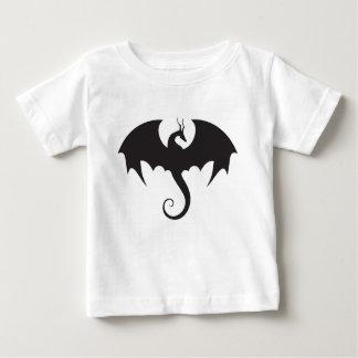 ベビーのドラゴンによってすごいクールな男の子のワイシャツ ベビーTシャツ
