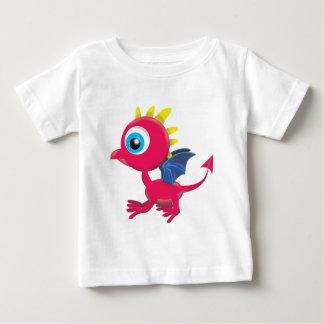 ベビーのドラゴン ベビーTシャツ