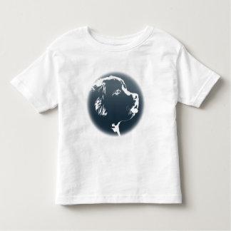 ベビーのニューファウンドランド犬のTシャツの幼児犬のワイシャツ トドラーTシャツ