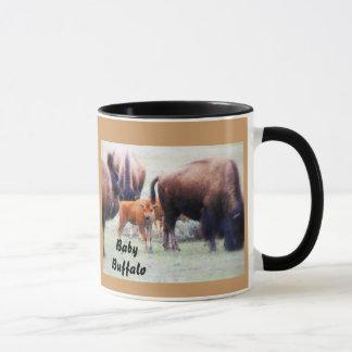 ベビーのバッファロー-マグ、コーヒーカップ、タンブラー マグカップ