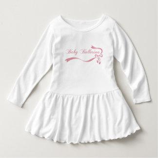 ベビーのバレリーナの幼児のひだの服 ドレス