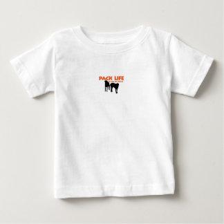 ベビーのパックの生命Tシャツ ベビーTシャツ