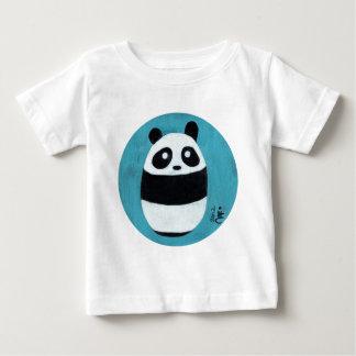 ベビーのパンダ ベビーTシャツ