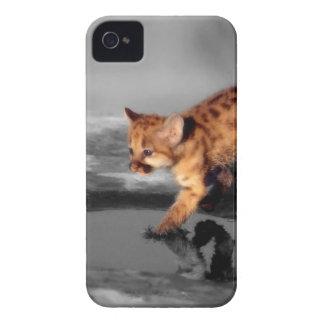 ベビーのヒョウ Case-Mate iPhone 4 ケース
