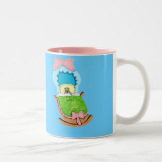 ベビーのフィンチ ツートーンマグカップ