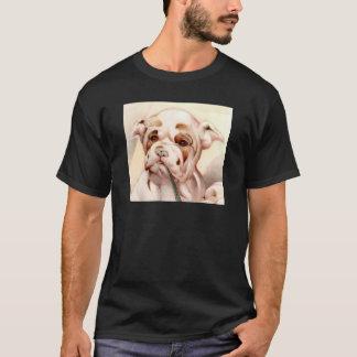 ベビーのブルドッグ-すごいかわいい! Tシャツ