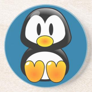 ベビーのペンギンのタキシードの砂岩コースター コースター