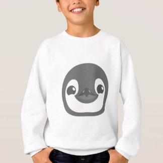 ベビーのペンギンの顔 スウェットシャツ