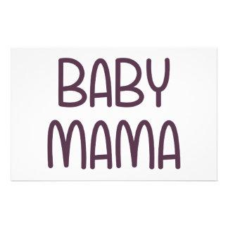 ベビーのママ(すなわち母) 便箋