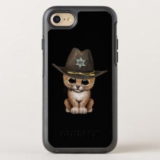 ベビーのライオンの子のかわいい保安官 オッターボックスシンメトリーiPhone 8/7 ケース