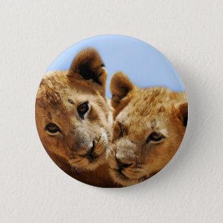 ベビーのライオン愛 缶バッジ