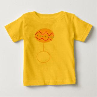 ベビーのラッセル音の漫画のワイシャツ ベビーTシャツ