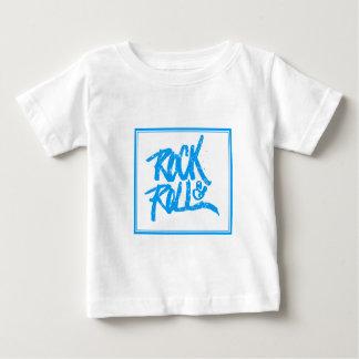 ベビーのロックンロール ベビーTシャツ