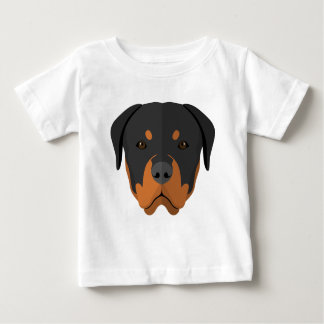ベビーのロットワイラー ベビーTシャツ