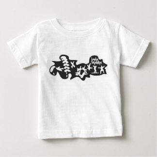 ベビーのロンドンのSkydiversのTシャツ ベビーTシャツ