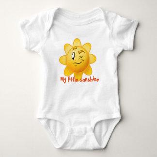 ベビーのワイシャツ少し日光の漫画 ベビーボディスーツ