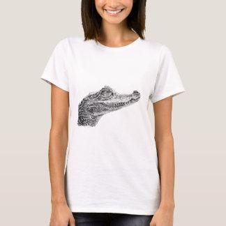 ベビーのワニインクスケッチ Tシャツ