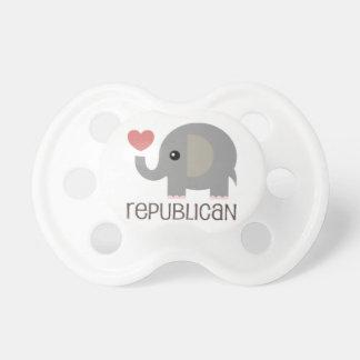 ベビーの共和党員の調停者 おしゃぶり