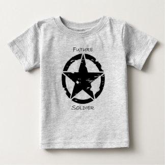 ベビーの兵士のティー ベビーTシャツ