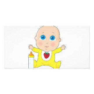 ベビーの大きい目 カード