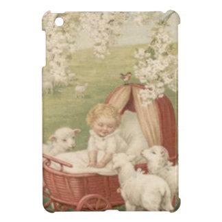ベビーの子ヒツジのミズキ木分野 iPad MINI カバー