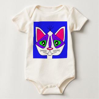 ベビーの子猫Kat ベビーボディスーツ
