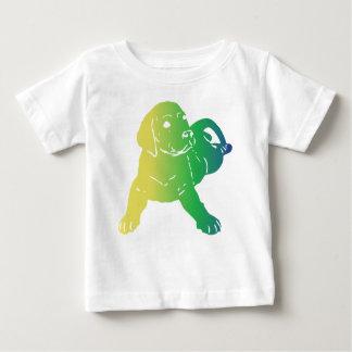 ベビーの実験室愛 ベビーTシャツ