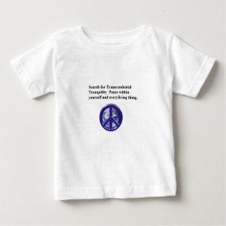 ベビーの平和 ベビーTシャツ