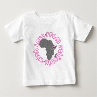 ベビーの採用のティー ベビーTシャツ