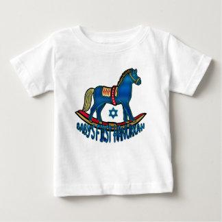 ベビーの最初ハヌカーのTシャツ、ハヌカーのベビー ベビーTシャツ
