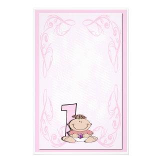 ベビーの最初誕生日 便箋