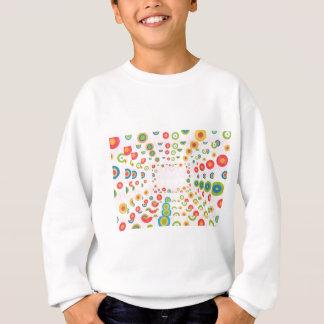 ベビーの服装-育てられるのために持ち上げます設計されている スウェットシャツ