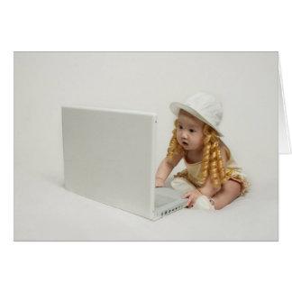 ベビーの点検の電子メール カード
