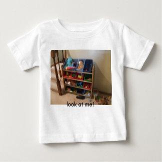 ベビーの物001の私の一見! ベビーTシャツ