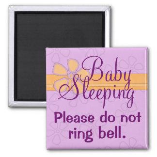 ベビーの睡眠の正面玄関の印の磁石 マグネット