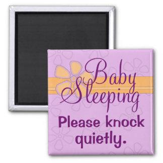 ベビーの睡眠の正面玄関の印 マグネット