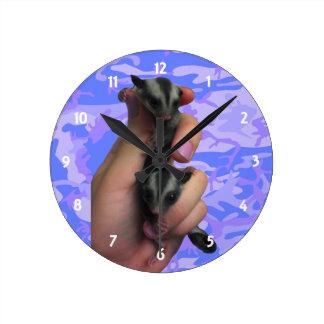 ベビーの砂糖のグライダーの時計 ラウンド壁時計
