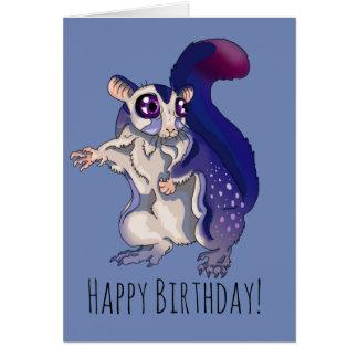 ベビーの砂糖のグライダーの誕生日 カード
