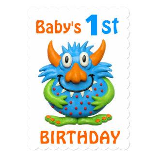 ベビーの第1モンスターの誕生会 カード