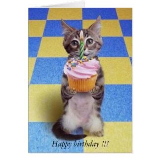 ベビーの第1誕生日- カード