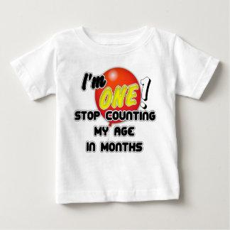 ベビーの第1誕生日 ベビーTシャツ
