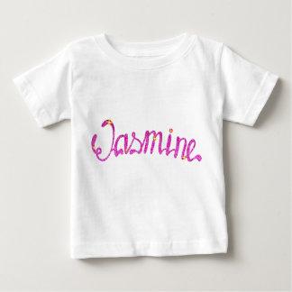 ベビーの素晴らしいジャージーのTシャツのジャスミン ベビーTシャツ