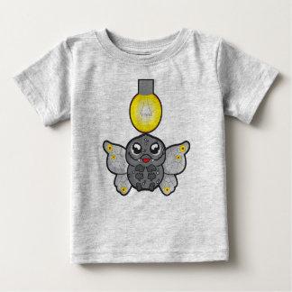 ベビーの素晴らしいジャージーのTシャツ、ガとのヒースの灰色 ベビーTシャツ