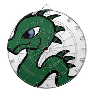 ベビーの緑ドラゴン ダーツボード