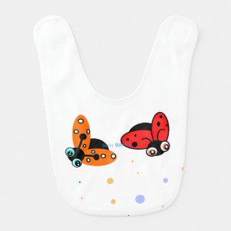 ベビーの肋骨- Bugs女性 ベビービブ