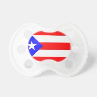 ベビーの調停者のプエルトリコの旗 おしゃぶり