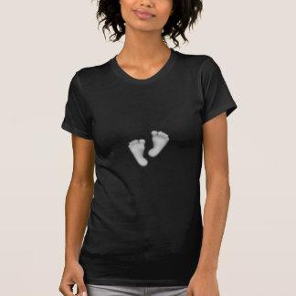 ベビーの足のワイシャツ Tシャツ